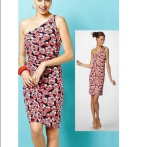 NWT Lilly Pulitzer Madison 1 Shoulder Floral Dress